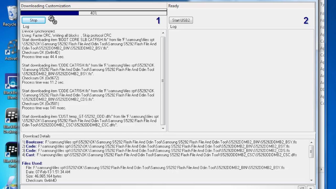 Samsung s5292 sim lock flash file