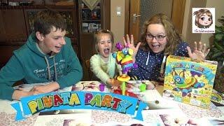 PINATA PARTY SPIEL - Wer sammelt am Schnellsten die meisten Preise? | Hasbro