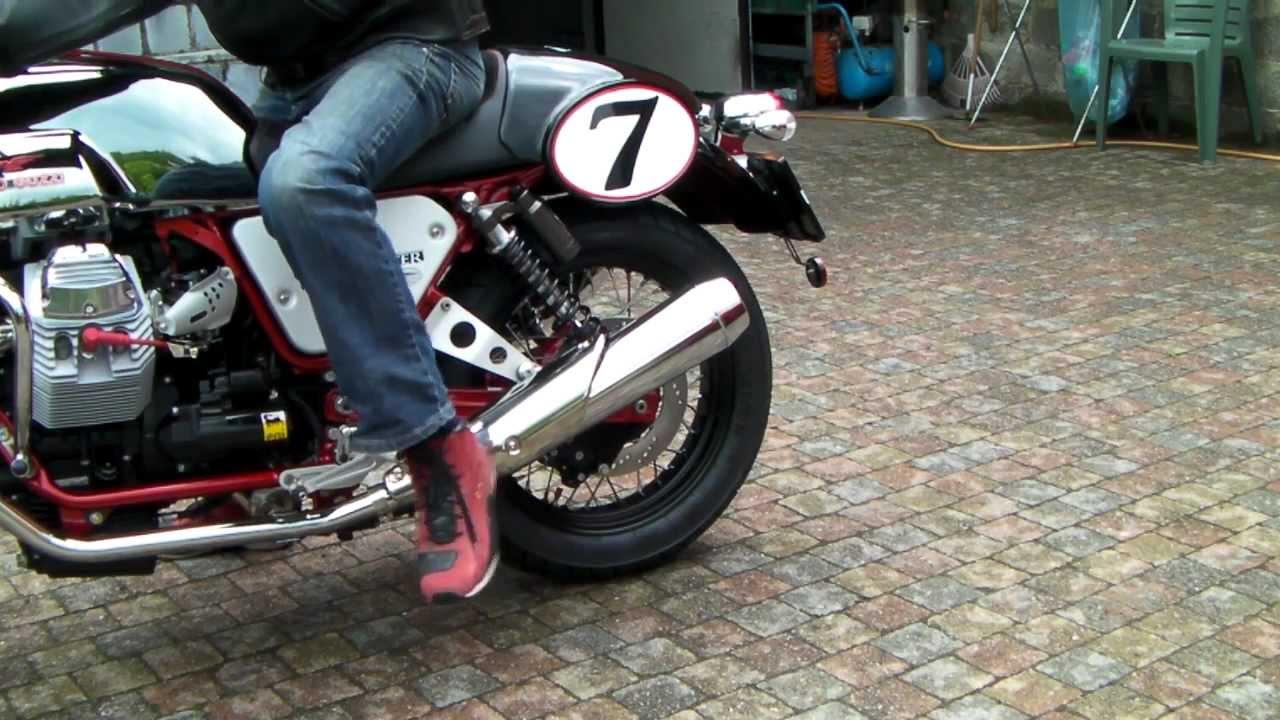 moto guzzi v7 racer youtube. Black Bedroom Furniture Sets. Home Design Ideas