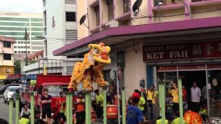 Yick Nam Lion Dance Team A 2014