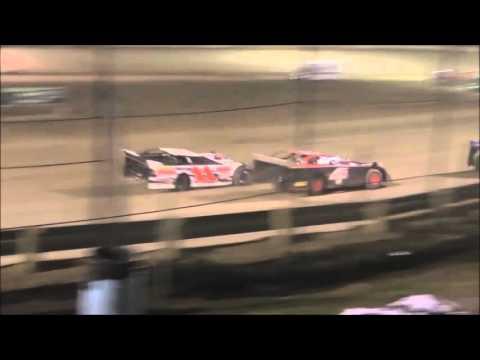 Late Model B-Main #1 Moler Raceway Park 11/14/15.