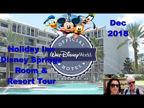 Holiday Inn - Disney Springs Area / Room And Resort Tour /Dec 2018