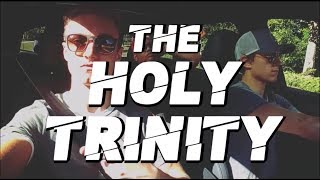 THE HOLY TRINITY #THT - Tom Holland, Harrison Osterfield & Jacob Batalon!
