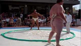 2012 US Sumo Open - Byambajav Ulambayar vs Kelly Gneiting