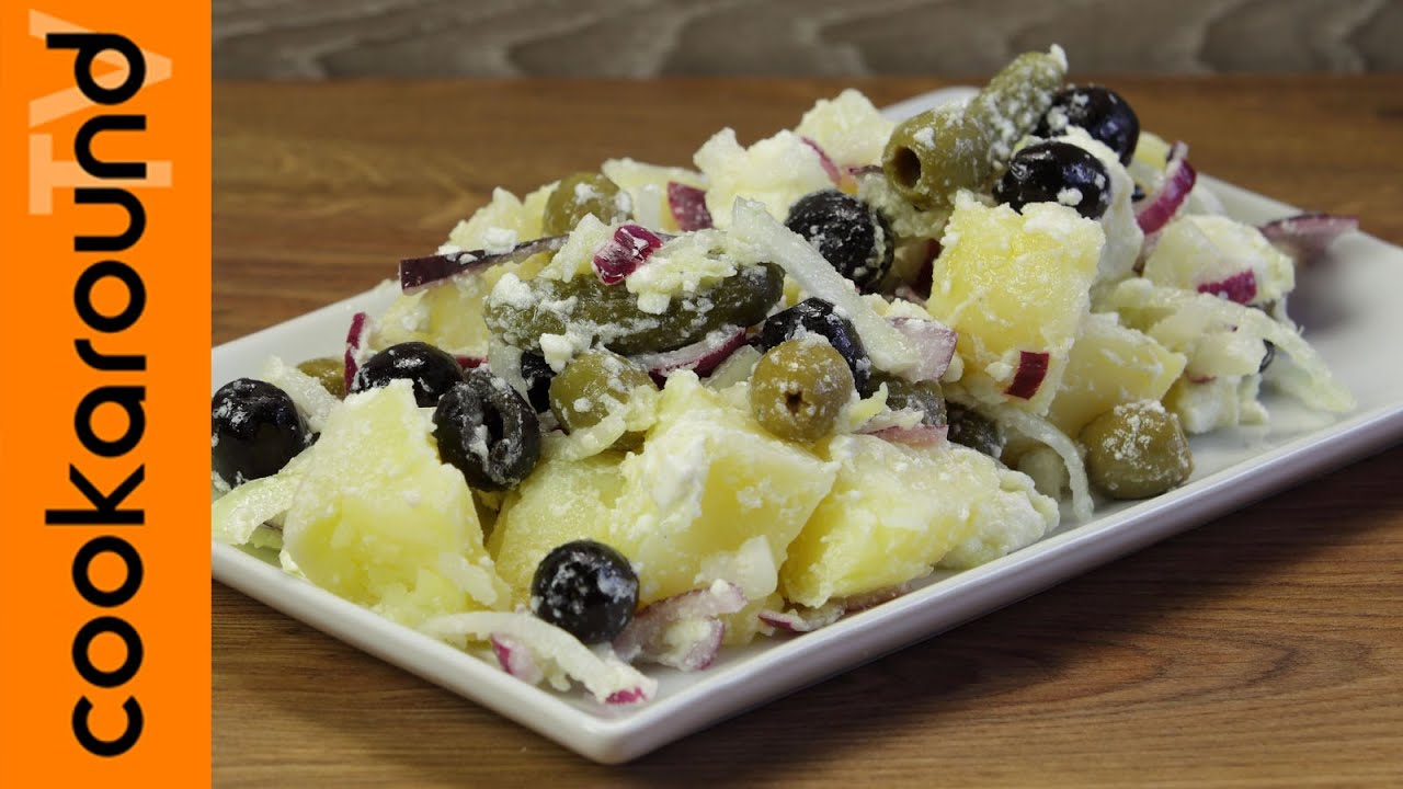 Insalata di patate e feta ricette piatti freddi youtube for Ricette piatti freddi