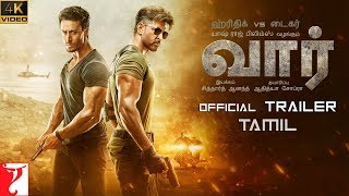 தமிழ்: War Trailer | Hrithik Roshan | Tiger Shroff | Vaani Kapoor | Tamil Version | 4K Video | 2 Oct