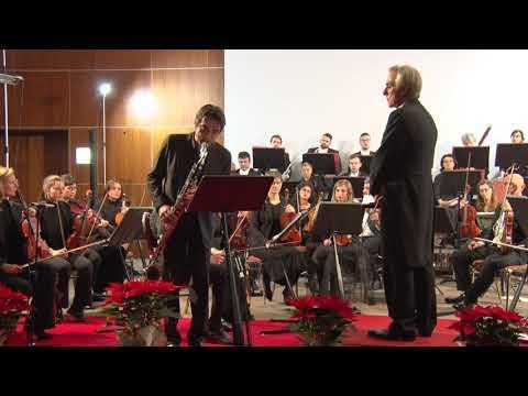 Bass Concerto di M.Mangani 1° tempo - cl b. Paolo De Gaspari Orc. A. Vivaldi