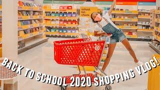 BACK TO SCHOOL 2020 shopping vlog! | just jordyn