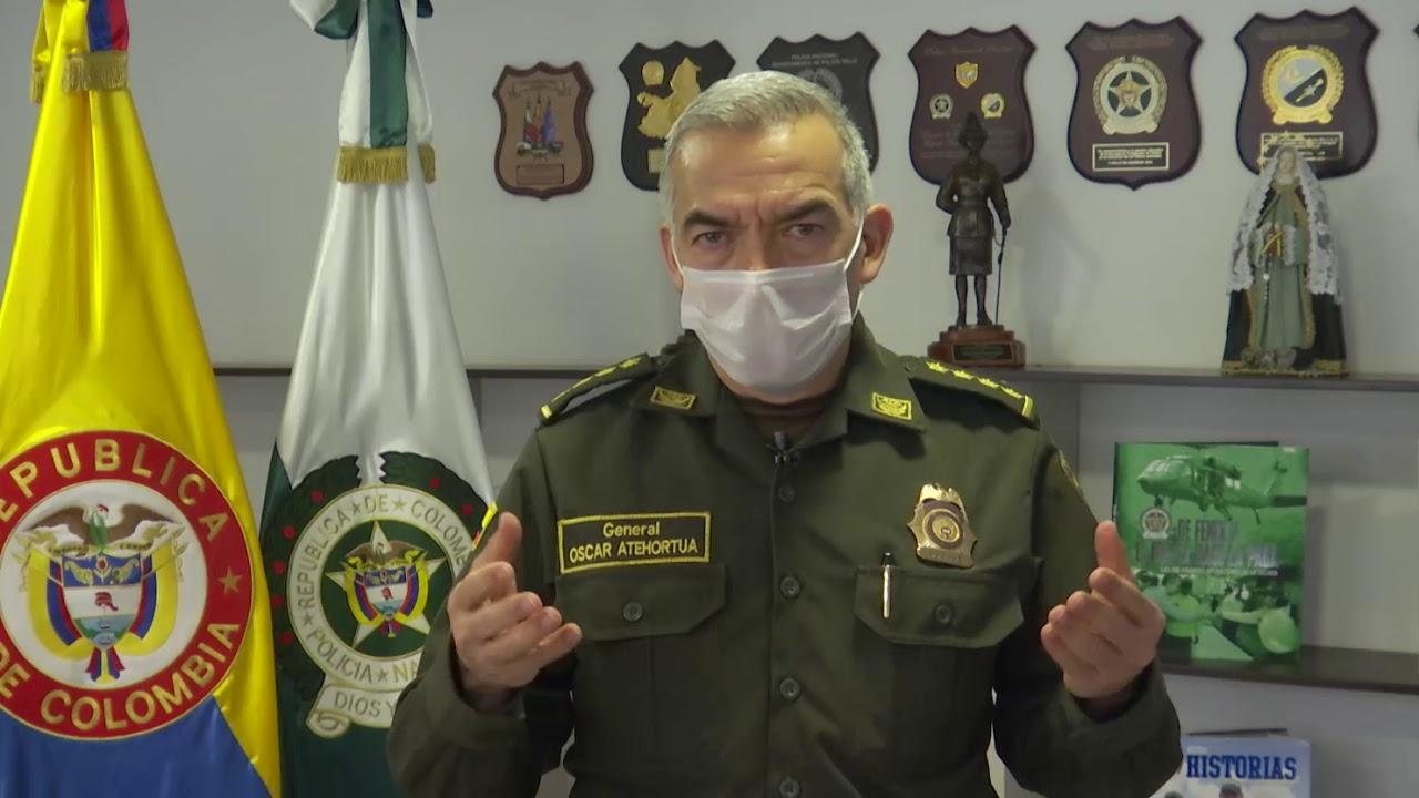 Declaración del director de la Policía Nacional, el general Oscar  Atehortúa, por la muerte del joven Ánderson Andrés Arboleda | Agencia de  Periodismo Investigativo