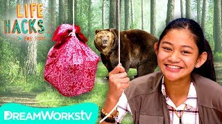 Bear + Bug Proof Camping Hacks | LIFE HACKS FOR KIDS