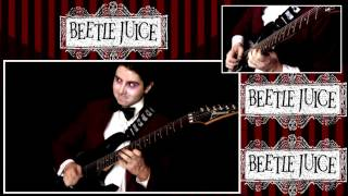 """Beetlejuice Intro Theme Song """"Beetlejuice"""" TV Music Soundtrack by Danny Elfman 