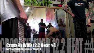 2012 CrossFit Open WOD 12.2 at  CrossFit By BodyFit San Jacinto Ca -Heat #4