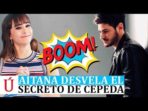Aitana desvela el secreto mejor guardado de Cepeda en Dial Tal Cual Operación Triunfo 2017
