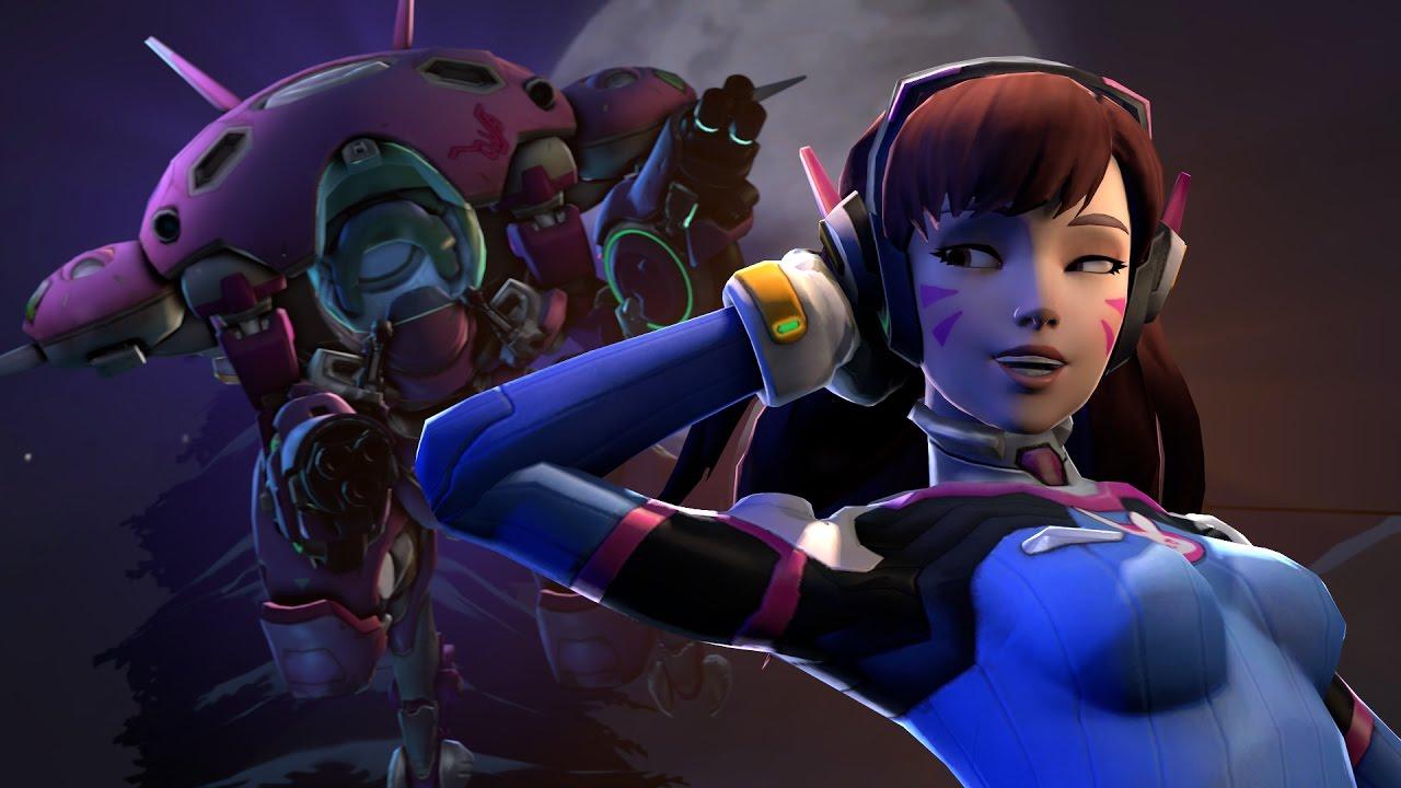 Overwatch Girl Fanart Wallpaper Overwatch The New Queen Of Overwatch Youtube