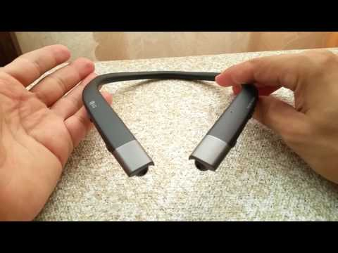 2017 LG Tone Infinim HBS-920 Bluetooth Headset Review
