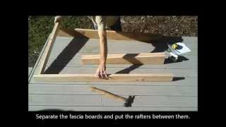 3-shed Roof Framing - How To Build A Generator Enclosure