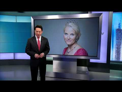 China's CCTV interviews Crown Princess Mette-Marit