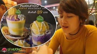 NẾM THỬ đệ nhất kem xôi Thái Lan     Guide Saigon Food