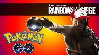 Rainbow Six Siege | Pokemon GO! (Funny Moments)