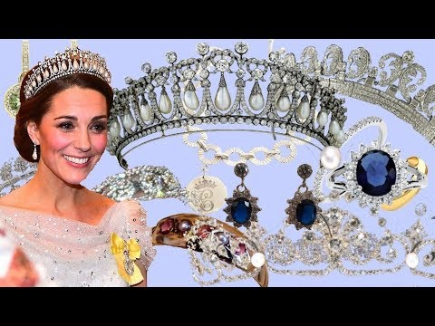 The Duchess Kate's Most Stunning Jewelry Received  From The Royal Family