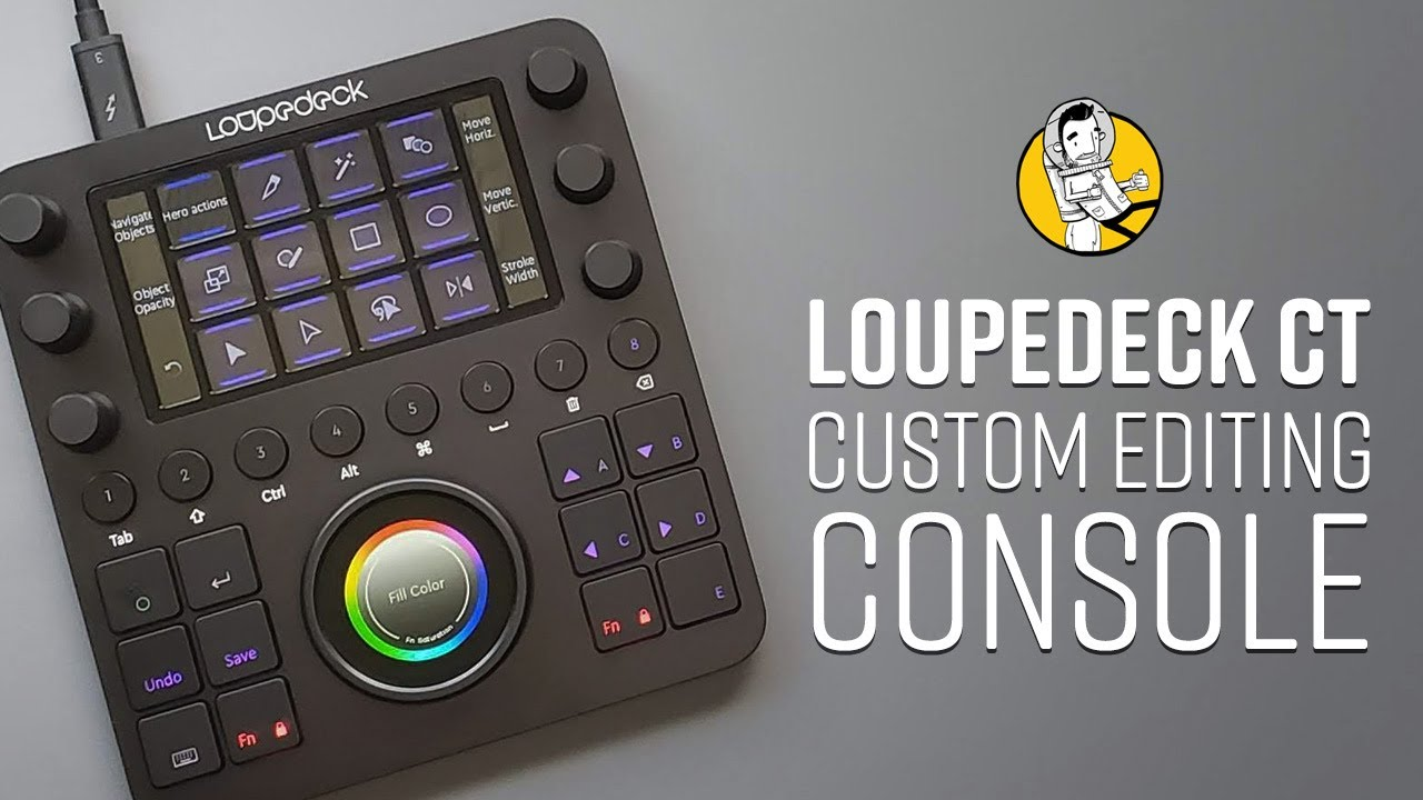 Using the Loupedeck CT to Speed Up My Adobe Illustrator Workflow