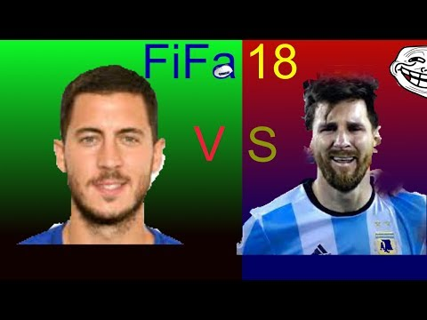 Messi vs Hazard  via @YouTube #fifa18 #Messi #Hazard #Division1 - FestivalFocus