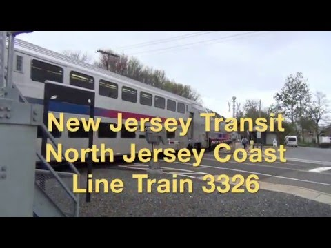 NJ Transit North Jersey Coast Line 3326 Head End Ride, ALP45-DP
