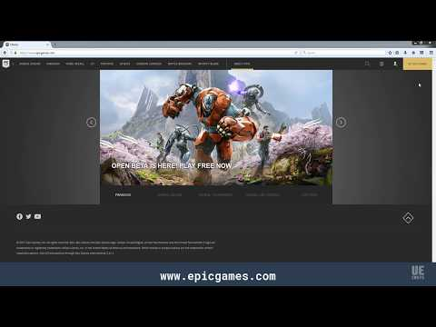 Setting up the Epic Games Launcher