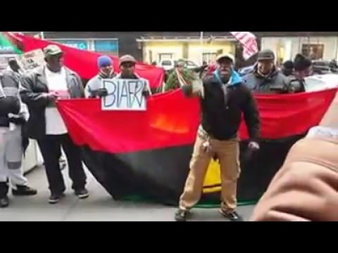Pro Biafra Protest at British Embassy NewYork