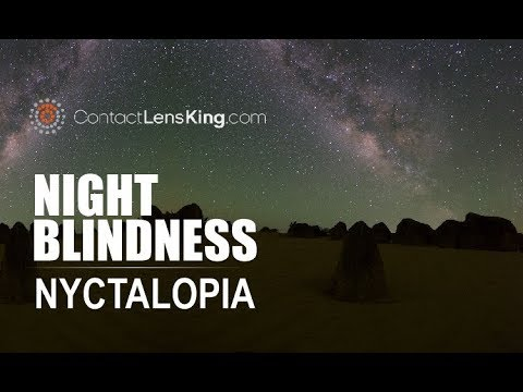 Nyctalopia What Is Night Blindness Symptoms Causes And Treatments Youtube