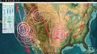 4/18/2018 -- Earthquakes reaching above M5.0 -- Spreading across regions rapidly