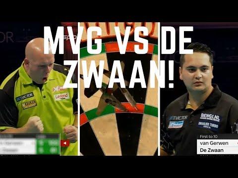 Michael van Gerwen (MVG) vs Jeffrey de Zwaan WORLD MATCHPLAY DARTS 2018 🎯! R1 Blackpool!