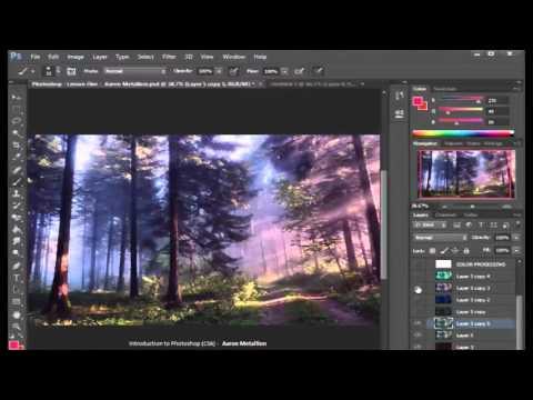 Digital Art Club - Lesson 01 - Introduction to Photoshop & Digital Art!