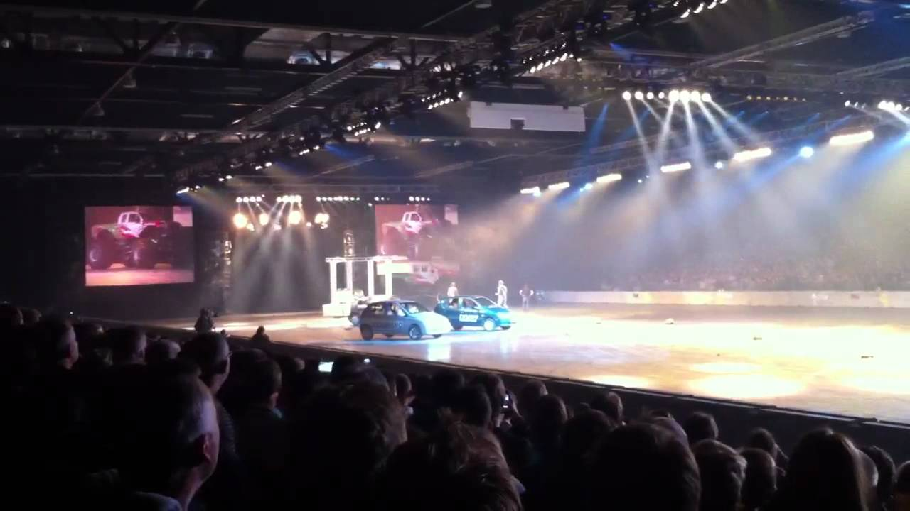 Top Gear Live 2011 - Monster truck broken