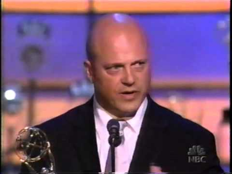 Michael Chiklis wins 2002 Emmy Award for Lead Actor in a Drama Series