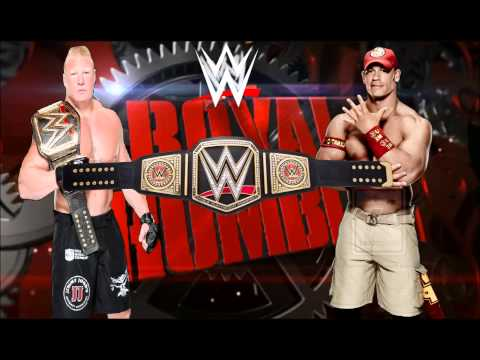 WWE Royal Rumble 2016 Match Card