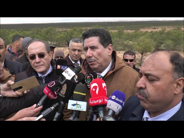 تصريحات وزير الفلاحة الدكتور شريف عماري خلال زيارته لولاية الجلفة يوم 16 نوفمبر 2019