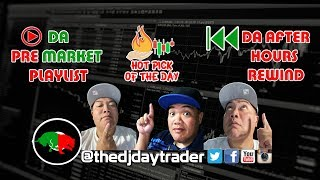 The DJ Daytrader LIive In the Stock Market Mix!