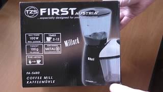 Обзор Жерновой кофемолки FIRST FA 5480 из Rozetka