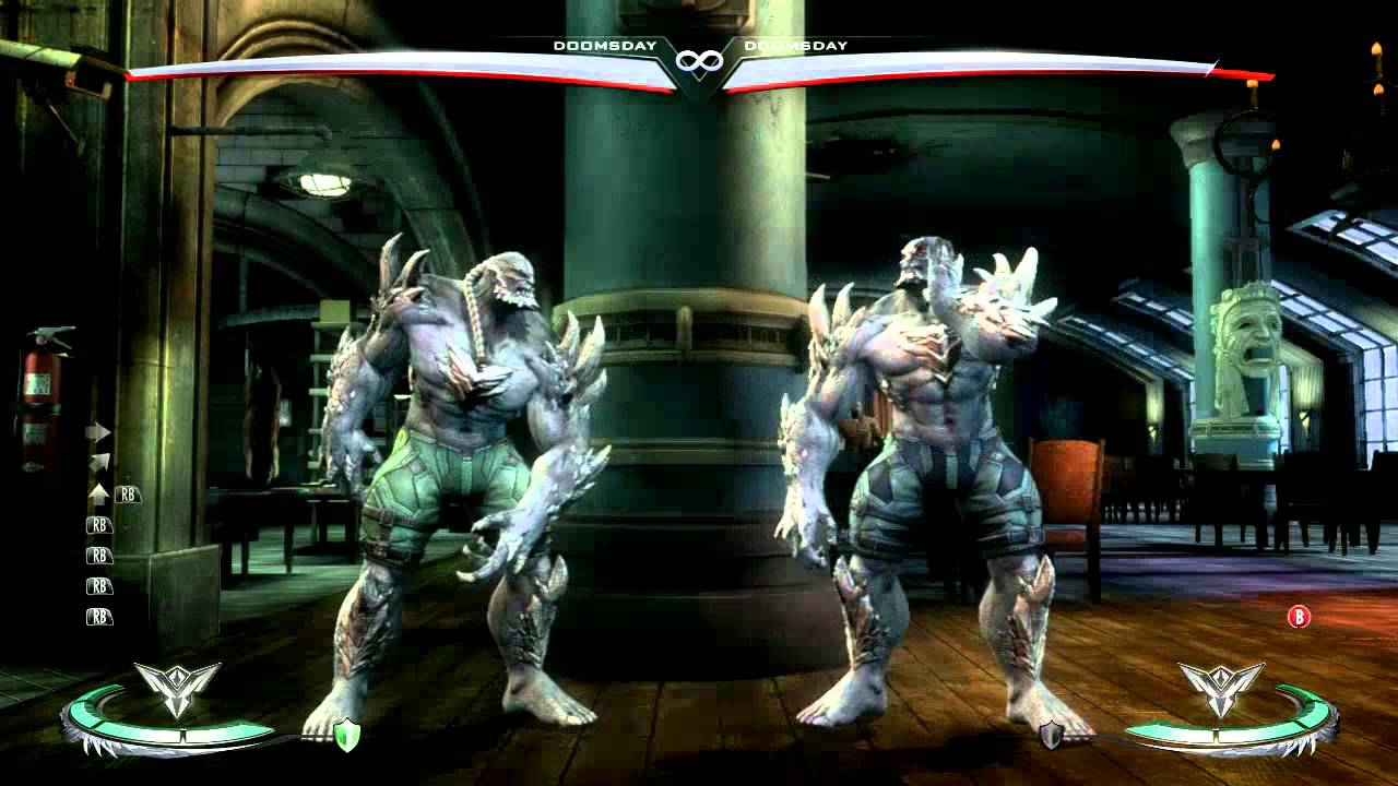 Injustice Gods Among Us 1 06 Visual Patch Changes Injustice God Visual