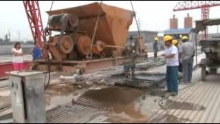 Production Of Prestressed Concrete Hollow Core Slab Machine