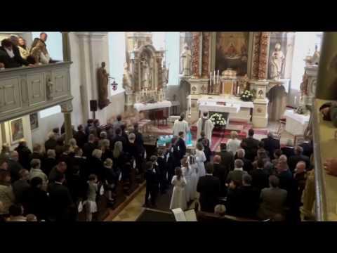 Gänsehaut-Lied zur der Erstkommunion in Struth: