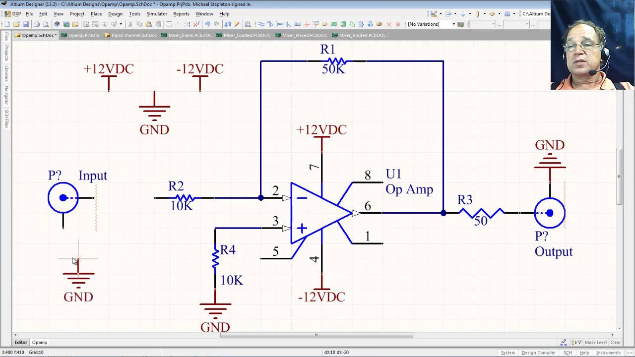 Routing and auto routing in altium [ arduino pcb design course.