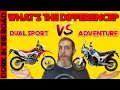 Dual Sport vs Adventure Bike: What's the Difference Between Dual Sport and Adventure Motorcycles?