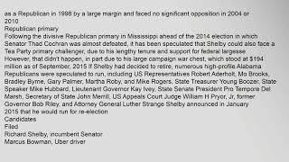 United States Senate election in Alabama, 2016