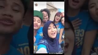 """Arafah Rianti nyanyi lagu Fatin Shidqia """"Salahkah Aku Terlalu Mencintaimu"""""""