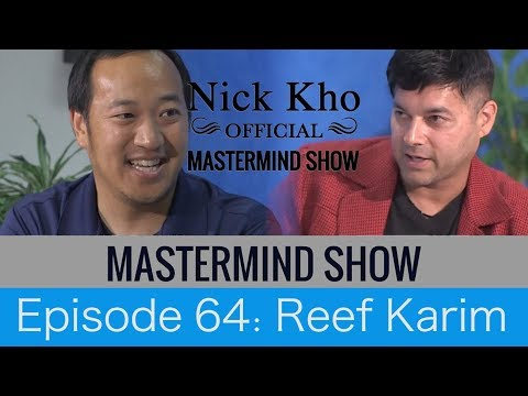 Dr Reef Karim And Nick Kho Personal Development Mastermind