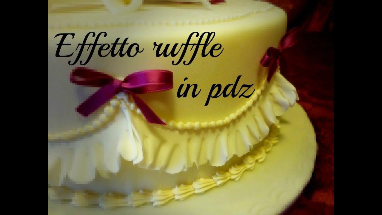 Decorating a cake: garrett frill effect in sugar paste by ItalianCakes