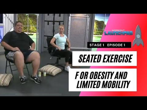 Seated Exercise For Obesity And Limited Mobility Stage1