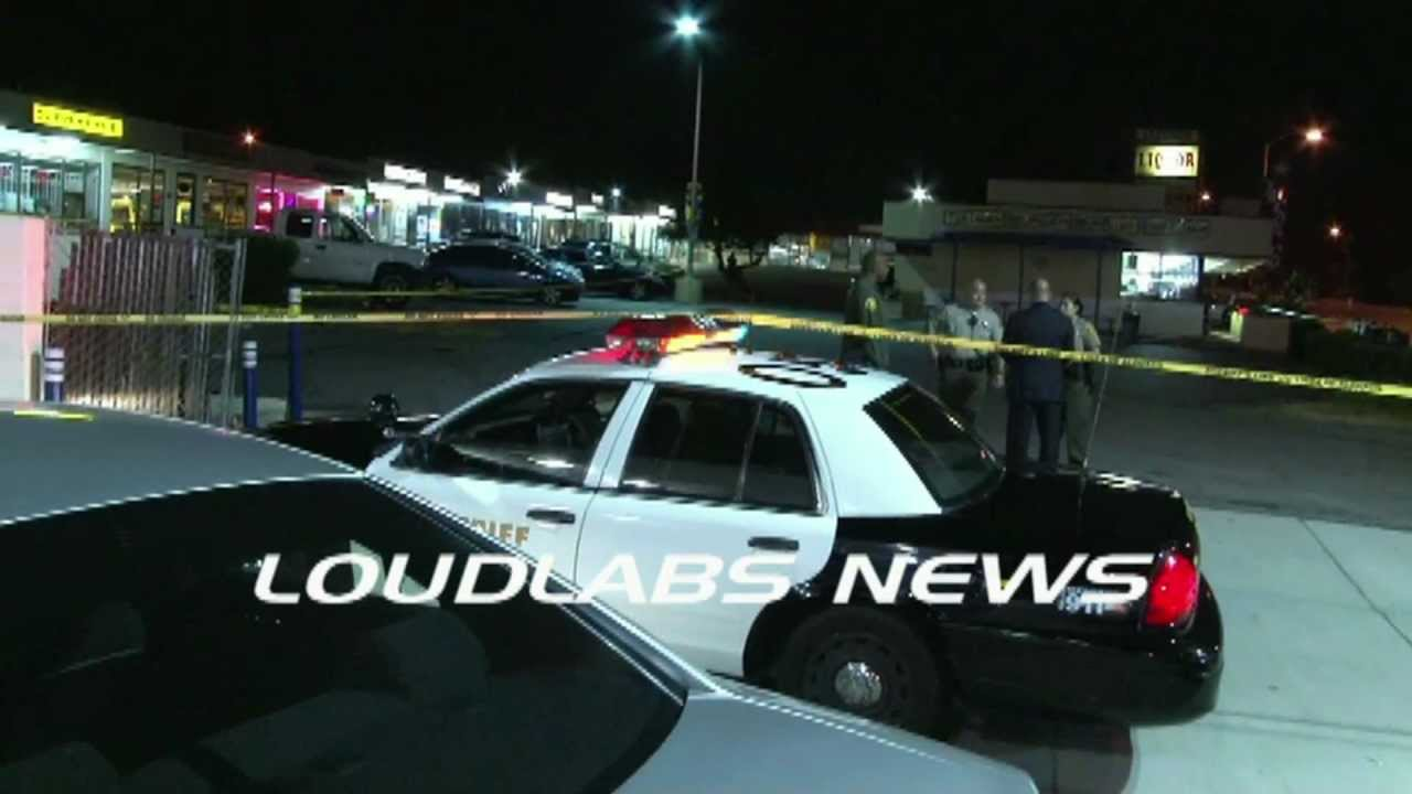 Liquor Store Killing / La Puente RAW FOOTAGE
